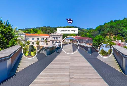 Puente Pedro Arrupe, Bilbao