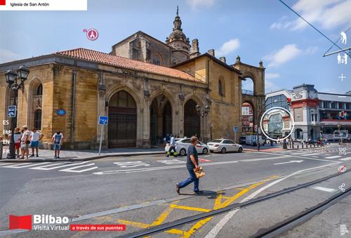 Iglesia de San Antón en Bilbao